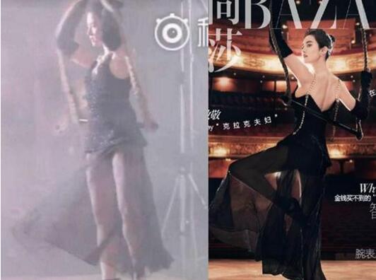 刘亦菲最新大片曝光,又被网友嘲胖了