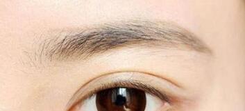 眉毛稀少男人需要选择的三种增加毛发的方法