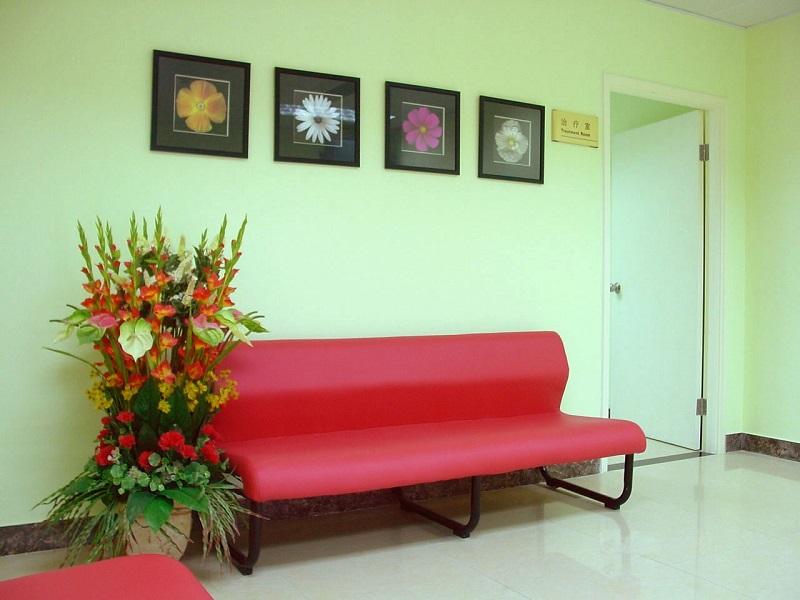 北京同仁医院整形美容中心休息区