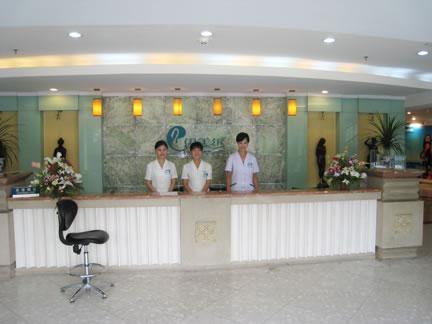 北京伊美尔幸福美容专科医院前台