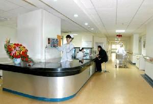 解放军总医院第一附属医院烧伤整形科护士站