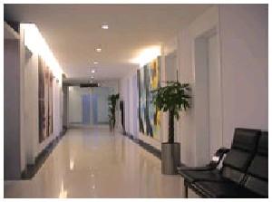 湖南省人民医院整形激光美容中心走廊