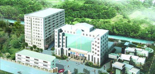 上海杨思医院医学美容科外观大楼