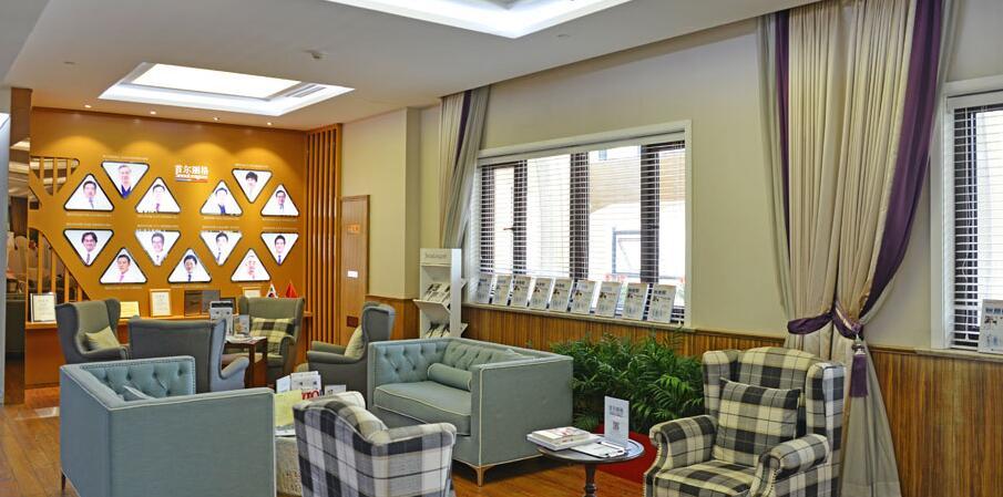 上海首尔丽格医疗美容医院医院接待区